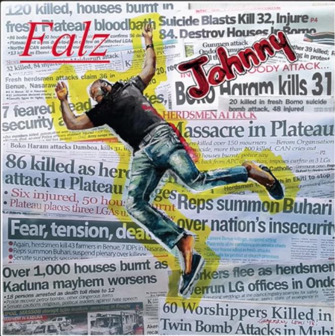 Falz Johnny artwork