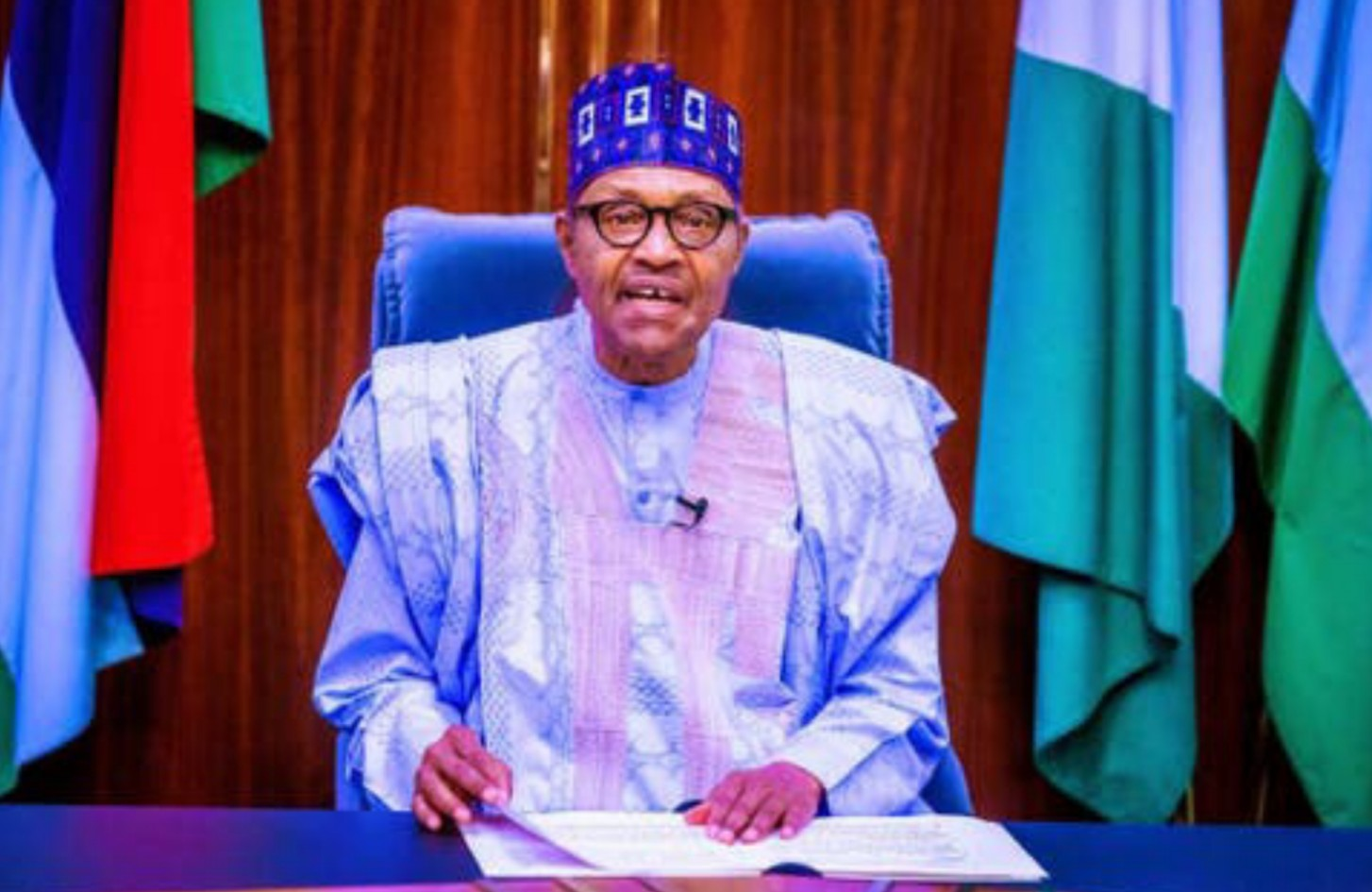 endsars buhari addresses nigerians promises extensive reform of nigeria police