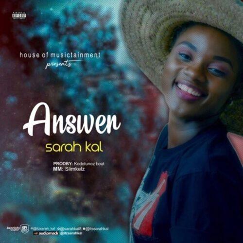 """MP3: Sarah Kal – """"Answer"""""""