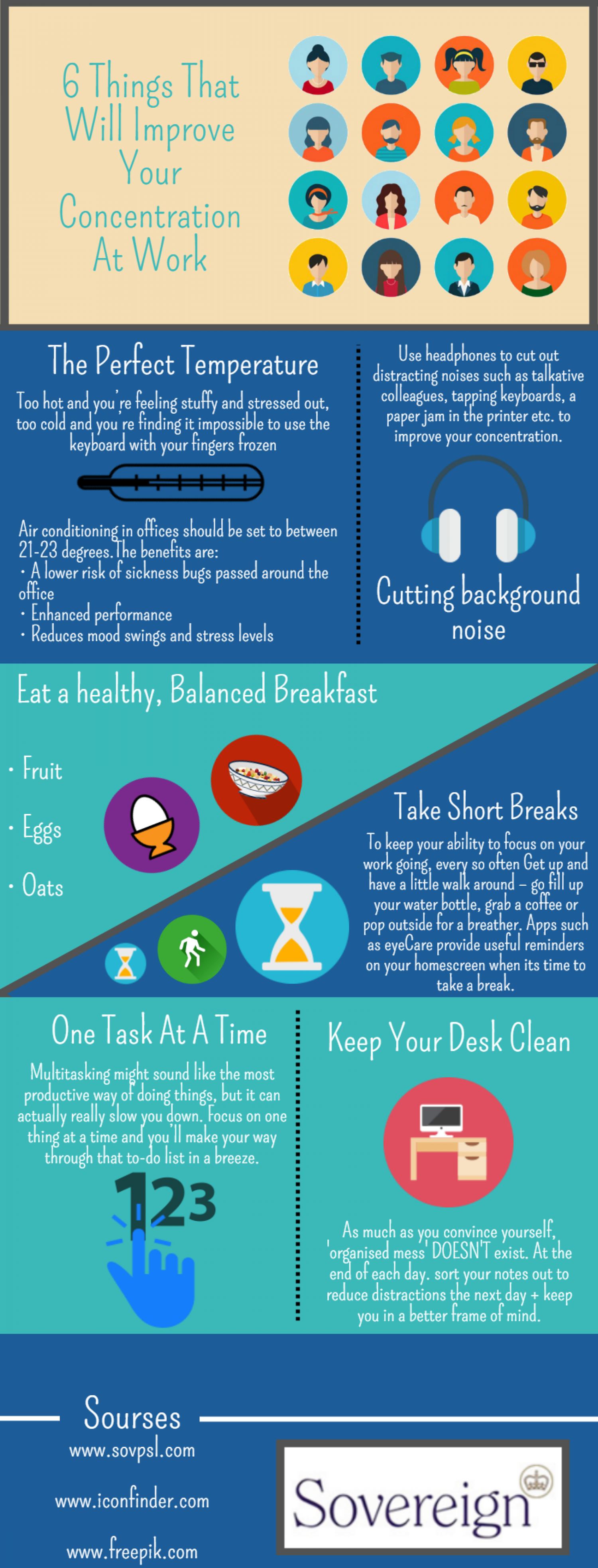 6 tips to improve your concentration at work