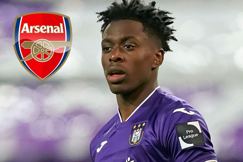 arsenal closing in on a deal for belgian midfielder sambi lokonga