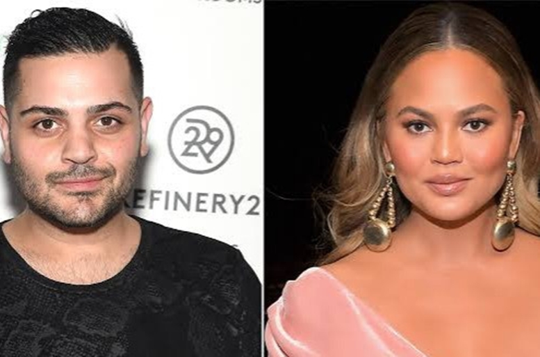 chrissy teigen reacts after abusive dms by michael costello claiming were from her turned out fabricated