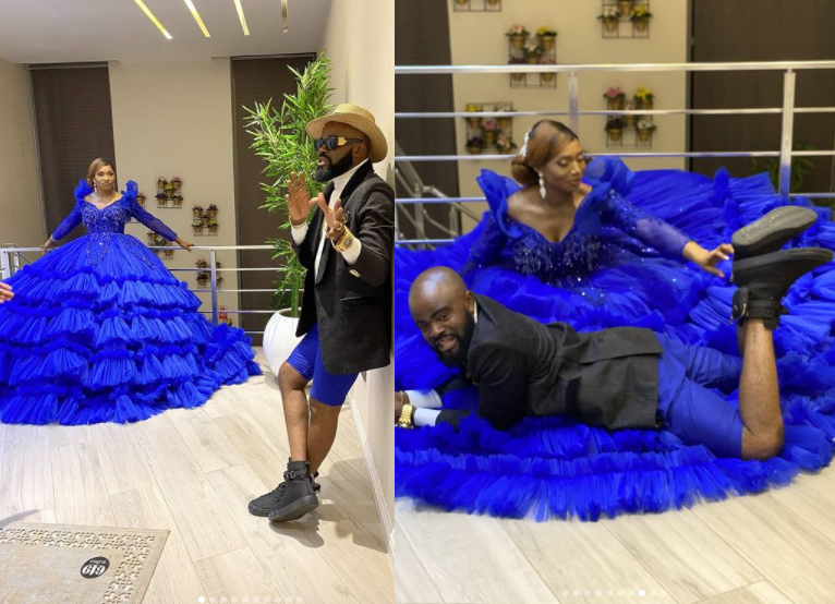 nigerian actor chief imo and his wife celebrate 10th wedding anniversary with lovely photos