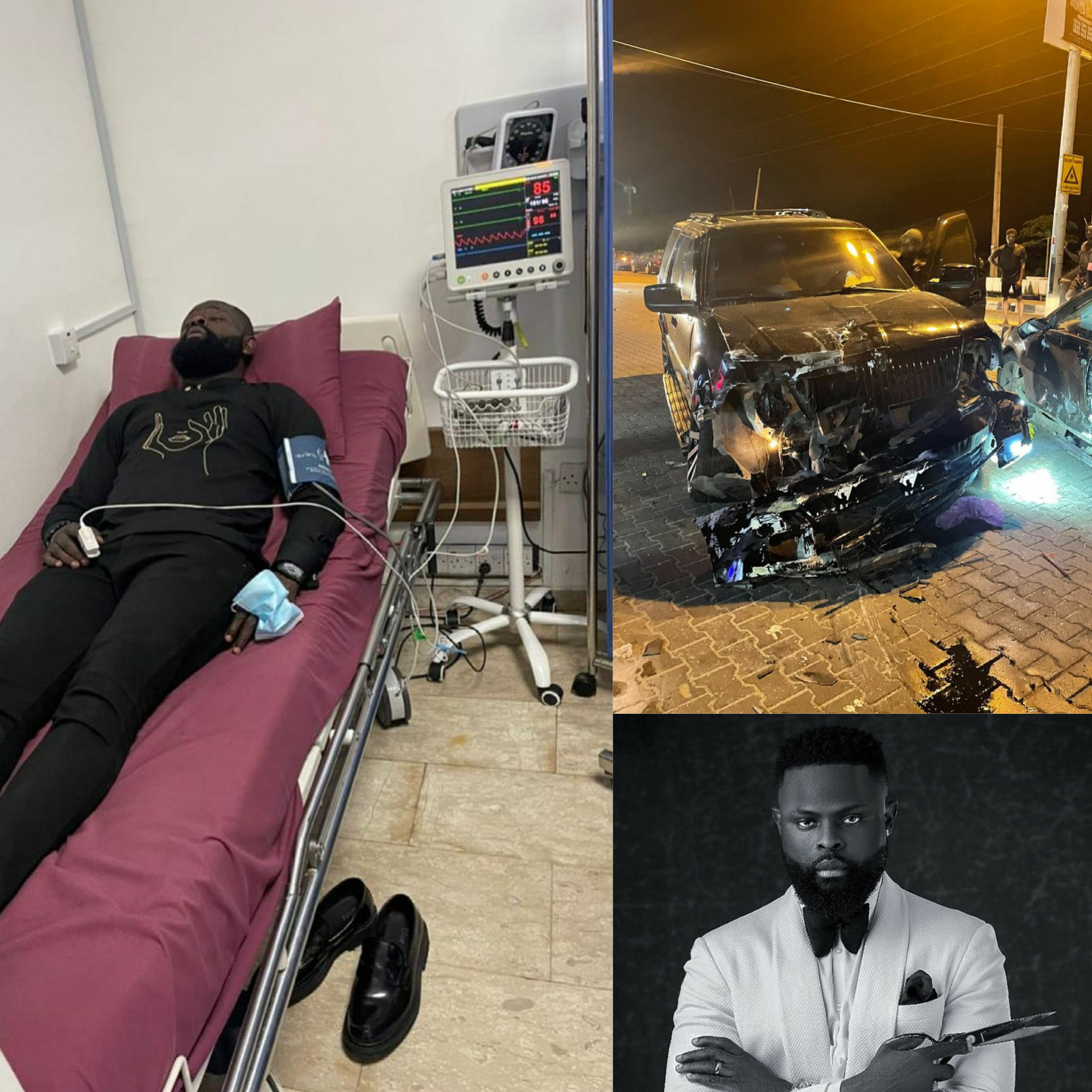 photos yomi casual survives ghastly motor accident hospitalised