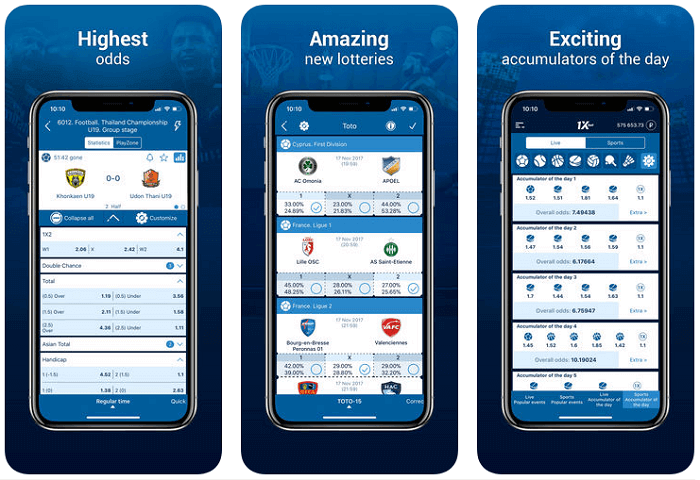review of the betting site 1xbet apps and bonuses