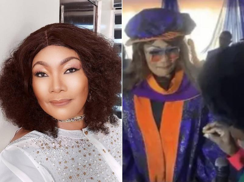 veteran nollywood actress eucharia anunobi bags phd